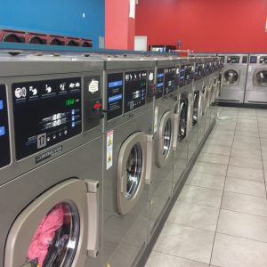 new laundromat, development, continental equipment