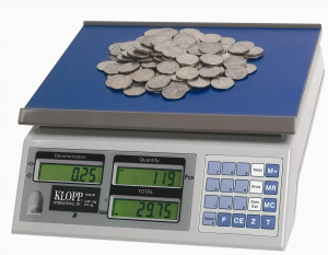 scale, coin counting, kcs60