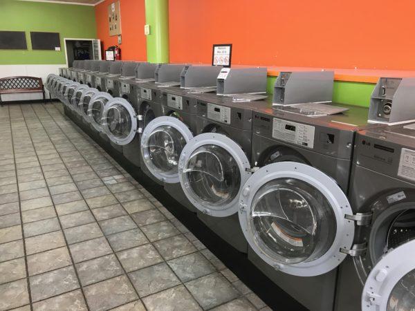LG, commercial, laundromat