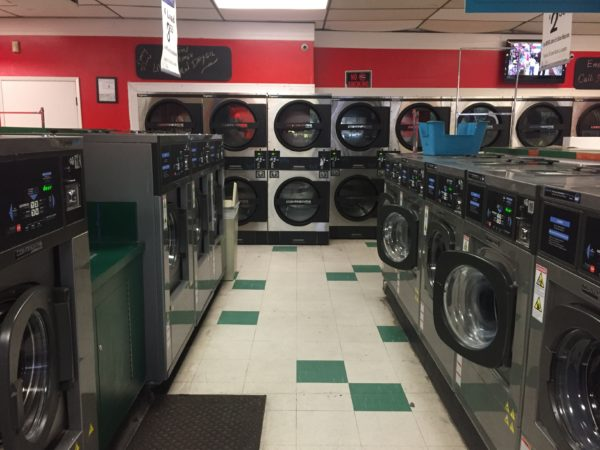 laundromat, commercial, front load